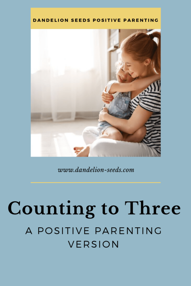 count to three