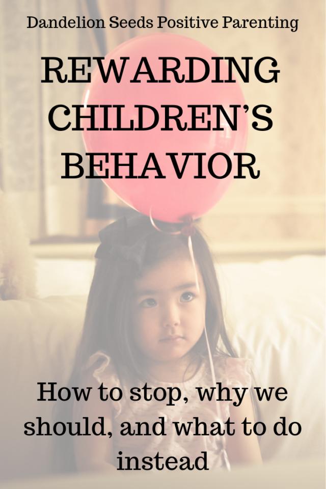 rewarding children's behavior